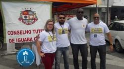 Os Conselheiros Tutelares da cidade, realizaram um grande trabalho de conscientização com a população iguabense